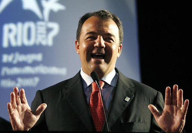 Ex-governador do Rio de Janeiro Sérgio Cabral (PMDB), durante evento em Buenos Aires em 2007 (Foto: Enrique Marcarian/Reuters)