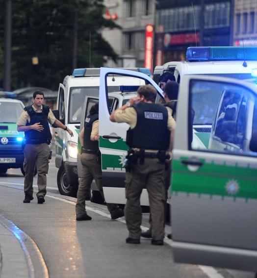 TERROR EM MUNIQUE (Andreas Gebert/dpa/AFP)