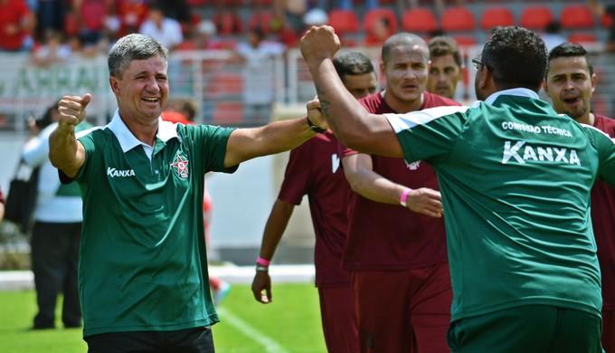 Ney da Matta técnico Boa Esporte (Foto: Régis Melo)