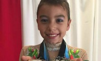 Ginasta de Guará ganha quatro medalhas em competição nos EUA (Arquivo Pessoal)