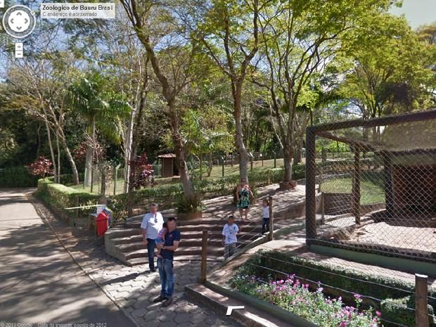 Parque ecológico é destaque da América Latina junto com o Chile (Foto: Google Street View/Reprodução)