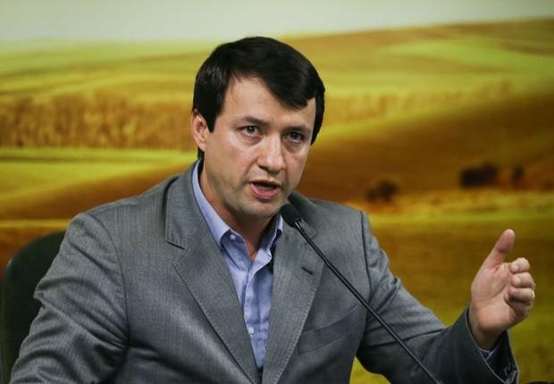 Secretário executivo do Mapa, Eumar Novacki, fala sobre Operação Carne Fraca (Foto: Valter Campanato/Agência Brasil)