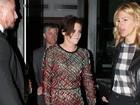 Kristen Stewart usa vestido transparente em première