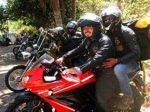 Boinas Pretas durante uma de suas viagens pelo Brasil (Foto: Renan Gutierrez/Arquivo Pessoal)