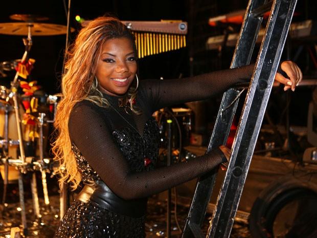 Ludmilla faz show em Babilônia (Foto: Carol Caminha/Gshow)