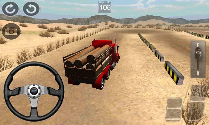 Truck Challenger desafio os jogadores com uma direção complicada (Foto: Divulgação)