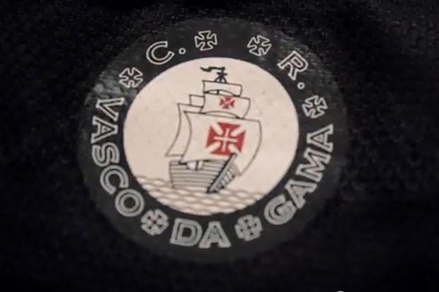 Escudo camisa Vasco da Gama (Foto: Reprodução / youtube)