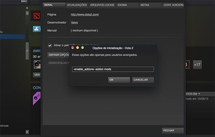 Aprenda a instalar mods em Dota 2 Reborn (Foto: Reprodução/Felipe Vinha)