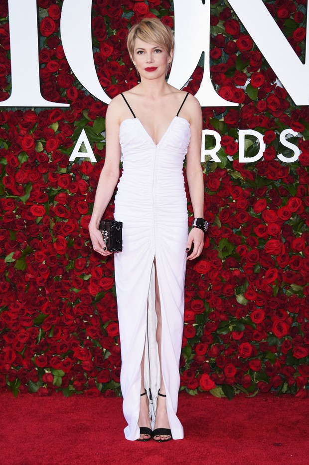 Michelle Williams no Tony Awards (Foto: AFP)