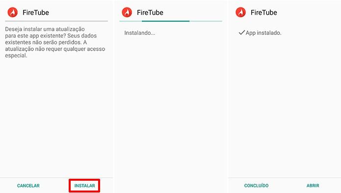 Instalação de atualização da Amazon Appstore precisa ser manual (Foto: Reprodução/Elson de Souza)