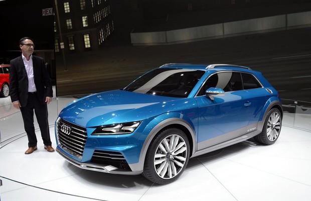 Audi A1 E-tron conceito no Salão de Detroit 2014 (Foto: Divulgação)