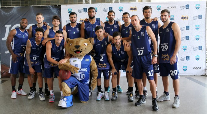 Minas basquete elenco (Foto: Orlando Bento/Minas)