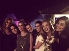 Ivete Sangalo ganha festa surpresa de Angélica, Dieckmann e outros famosos
