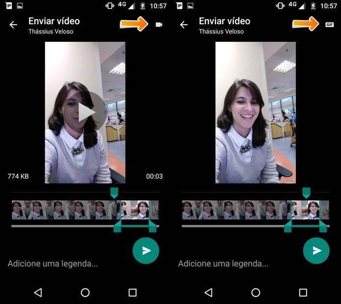 Transforme vídeos de seis segundos em GIFs diretamente no app (Foto: Reprodução/Luciana Maline)