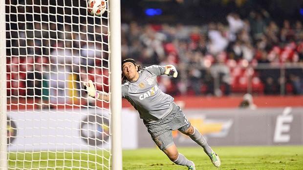 Cassio gol São Paulo Corinthians Recopa (Foto: Marcos Ribolli / Globoesporte.com)