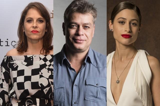 Drica Moraes, Fábio Assunção e Luisa Arraes (Foto: TV Globo)