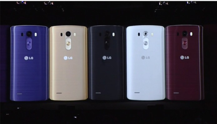 LG G3 é apresentado ao público em evento mundial (Foto: Divulgação/ LG)