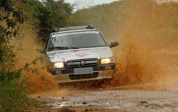 Rally Universitário Fiat em João Pessoa (Foto: Divulgação Fiat)