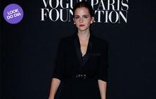 Look do dia: Emma Watson vai toda de preto a evento em Paris