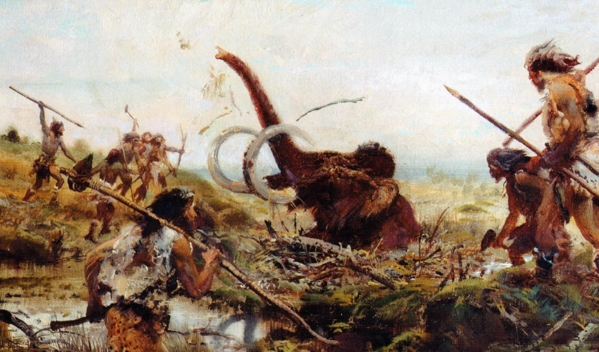 A estrutura corporal de nossos antepassados era mais desenvolvida (Foto: Reprodução)