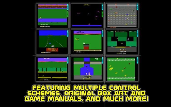 Colectânea da Activision permite jogar clássicos do passado em suas versões originais (Foto: Reprodução / Google Play)