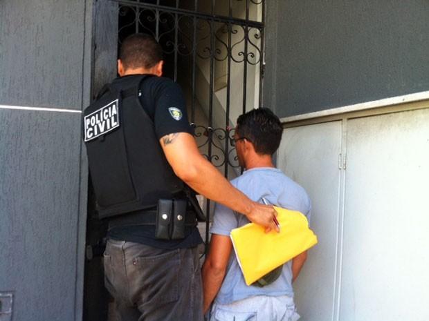 Polícia realiza ação desde a madrugada desta sexta (24) no RN (Foto: Igor Jácome/G1)