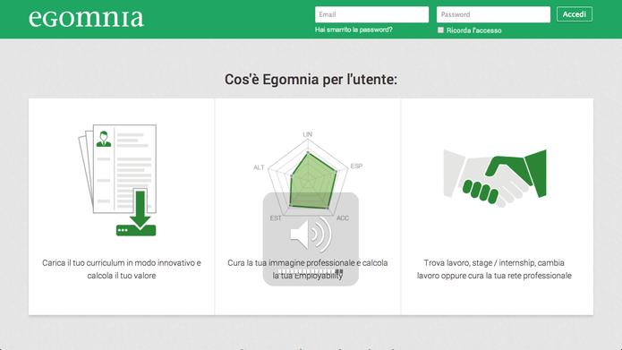 O serviço oferecido pelo Egomnia se resume em três importantes passos: cadastro, análise e contato (Foto: Divulgação/Egomnia)