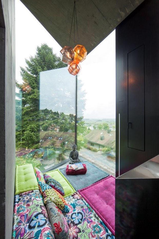 Envelope de vidro, concreto e aço (Foto: Vito Stallone/divulgação)
