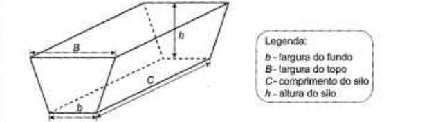 Estrutura de um silo (Foto: Reprodução/ENEM)