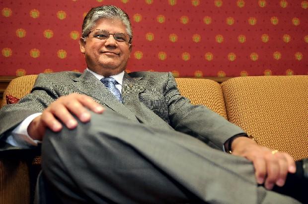 """CONTESTAÇÃO O senador Clésio Andrade. """"O relatório da CGU tem várias inconsistências"""" (Foto: Bruno Peres/CB/D.A Press)"""