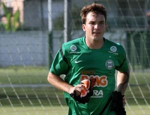 Willian realiza trabalho de recuperação física no Coritiba (Foto: Divulgação / Coritiba)