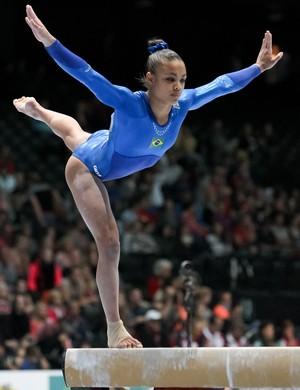 Leticia costa  no mundial de ginástica  (Foto: Ricardo Buffolin, CBG)