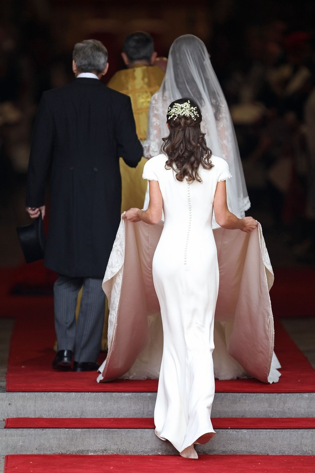 Kate Middleton e Pippa Middleton (Foto: Getty Images/Agência)