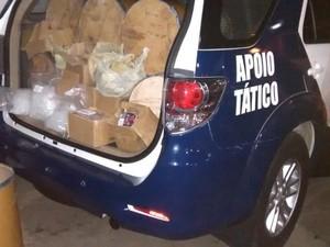 Ação conta com ajuda de denúncia de moradores. (Foto: GCM/Divulgação)