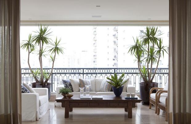 Apartamento sóbrio e claro (Foto: Divulgação)