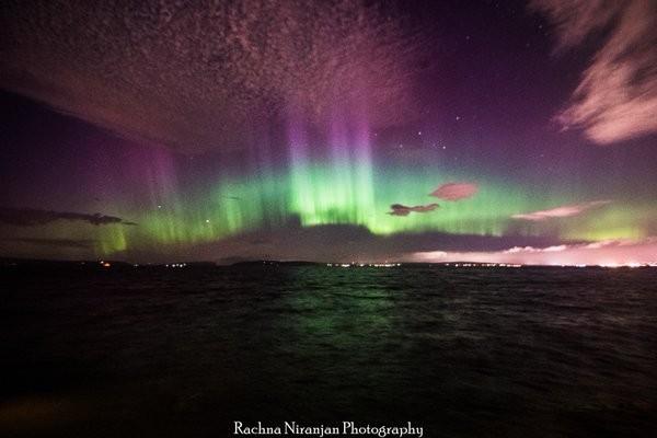 tempestade solar (Foto: Reprodução/Twitter)
