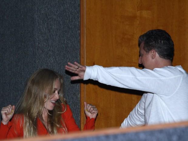 Angélica e Luciano Huck em show de Preta Gil no Rio (Foto: Raphael Mesquita/ Foto Rio News)
