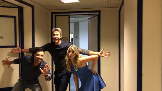 Marcio Garcia, Dani Calabresa e Rodrigo Sant'anna mostram que também têm 'Falha Nossa' na web