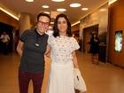 Maria Gadú vai com a mulher, Lua Leça, a pré-estreia de filme