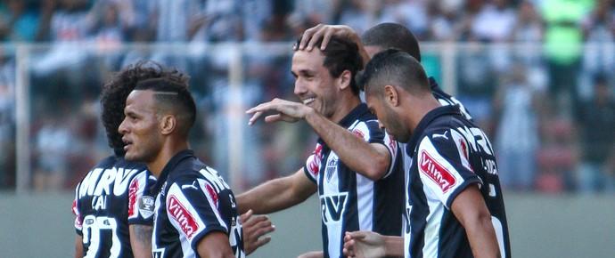 Jogadores do Atlético-MG comemoram gol no Independência (Foto: Bruno Cantini/Flickr do Atlético-MG)