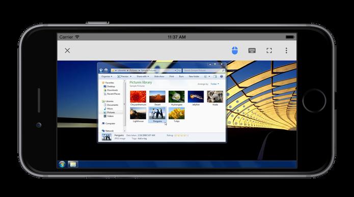 7ea6b16f623 App que permite acesso remoto a computador é finalmente lançado para IOS  (Foto: Divulgação