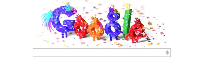 Doodle do Google celebra o Carnaval 2015 (Foto: divulgação)