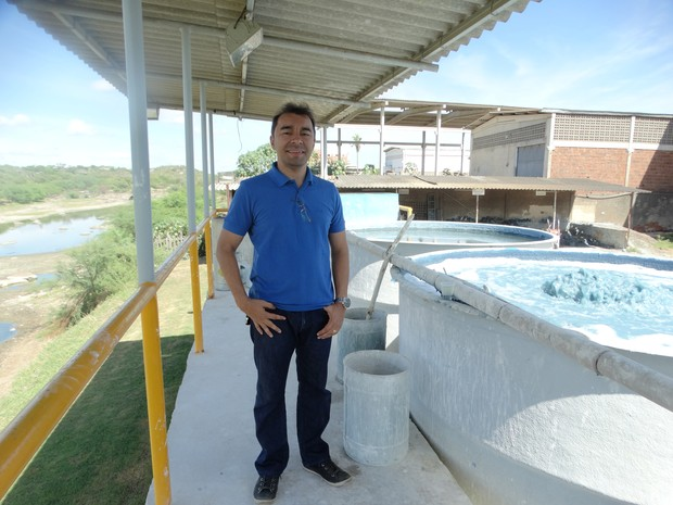 Edilson Tavares, empresário (Foto: Paula Cavalcante/G1)