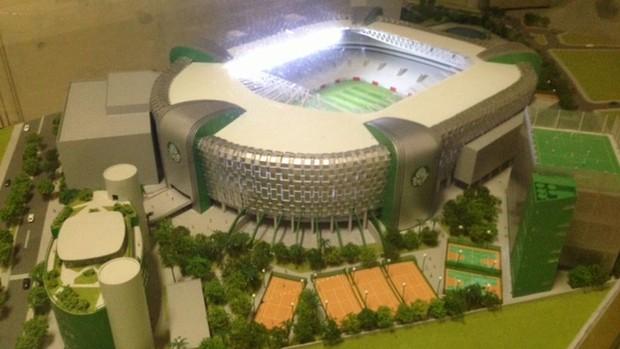 arena palestra itália (Foto: Leonardo Bianchi/TV Globo)