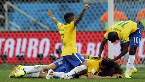 Brasil vence a Croácia por 3 a 1 na estreia (Frank Augstein/AP)