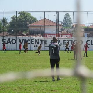 treino são vicente (Foto: Antonio Marcos)