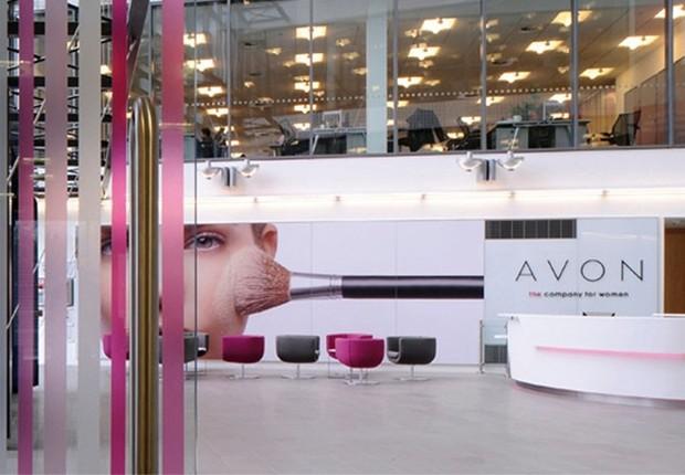 Sede da empresa de cosméticos Avon na Europa (Foto: Getty Images)