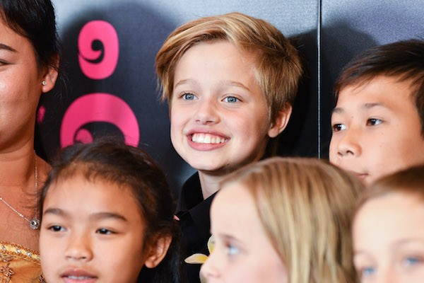 A jovem Shiloh Jolie-Pitt, filha de Angelina Jolie e Brad Pitt (Foto: Getty Images)