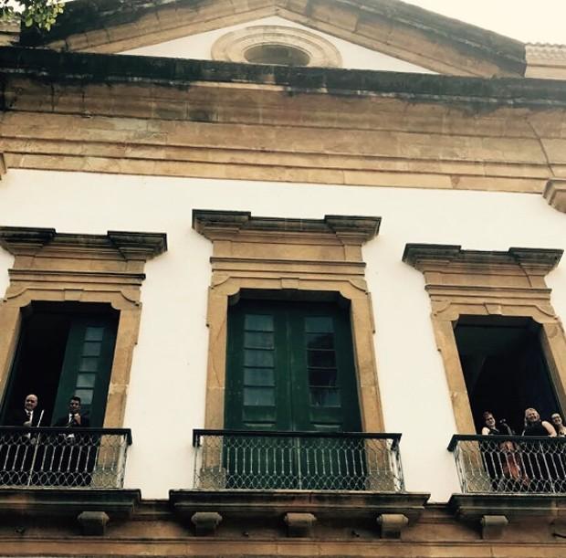 Igreja da Matriz, em Paraty (Foto: Reprodução/Instagram)