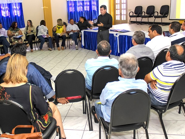Plano de contingência contra Aedes aegypti é discutido no Maranhão (Foto: Julyanne Galvão / SES)